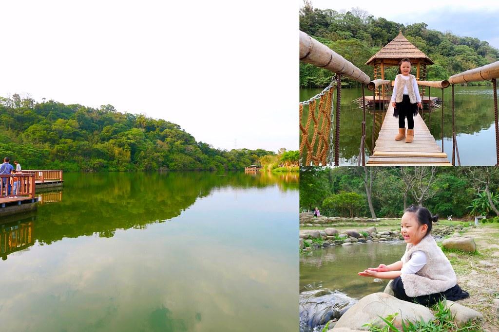 三坑自然生態公園:佔地3.8公頃的生態公園,生態湖泊、大片草坪,親子踏青的好地方! @飛天璇的口袋