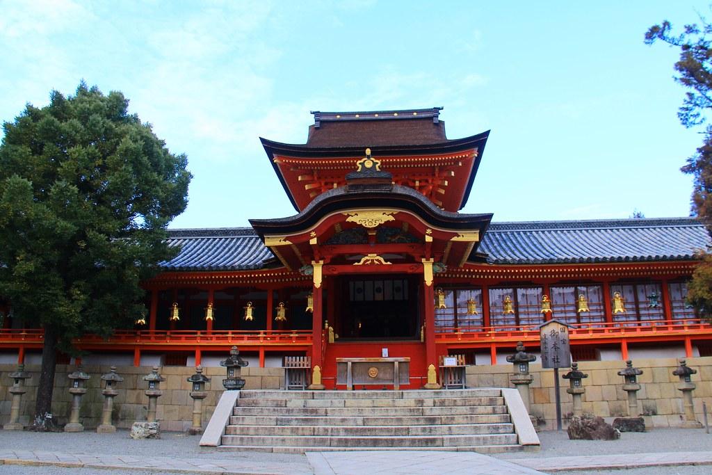 石清水八幡宮:日本三大八幡宮,體驗男山小纜車,京都近郊賞櫻聖地 @飛天璇的口袋