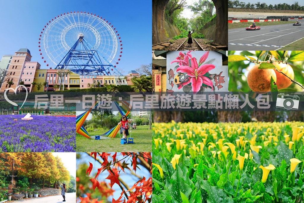 2020后里一日遊美食景點:14個旅遊景點~台中一日遊、親子旅行、情侶約會、漂亮花季 @飛天璇的口袋