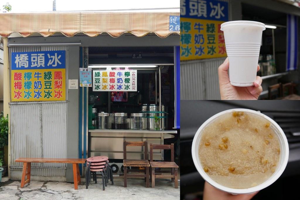 清水橋頭冰:在地50年的隱藏版小吃美食,內行人都點綠豆鳳梨冰,每年4月~11月才有營業 @飛天璇的口袋