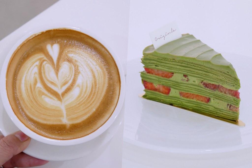 蒔初甜點 Originl'a Tart & Dessert:漂亮純白落地窗建築,草莓塔、戚風蛋糕和千層蛋糕都很不錯 @飛天璇的口袋