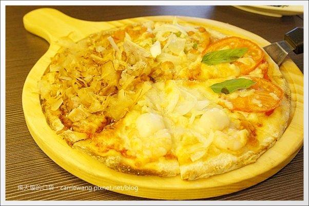 【台中披薩吃到飽】Share Pizza.比薩斜塔。逢甲商圈聚餐的好選擇… @飛天璇的口袋