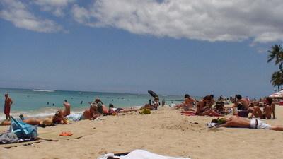 【夏威夷自由行】Day6 叮噹車→Waikki Beach→玻璃船 @飛天璇的口袋