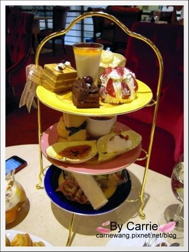 【台中下午茶】古典玫瑰園.英式下午茶@國美館旗艦店 @飛天璇的口袋