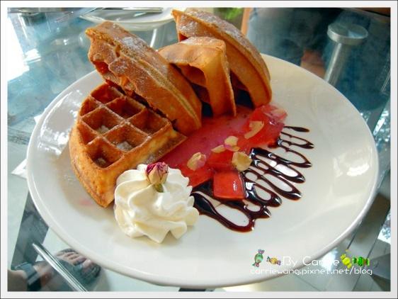 【台中下午茶】米咖啡 Rice Caffe.有好吃的鬆餅哦! @飛天璇的口袋