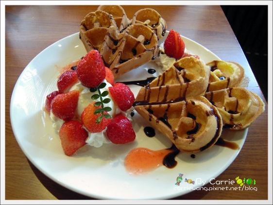 【台中下午茶】Rafiki Café.台中好吃鬆餅推薦 @飛天璇的口袋