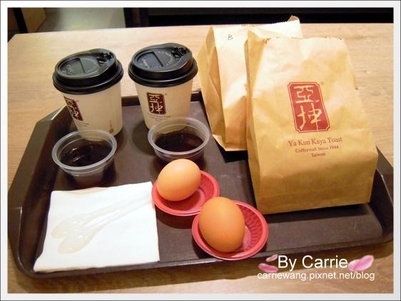 【台中早餐推薦】亞坤咖啡.Ya Kun Kaya Toast。來自新加坡的傳統早餐@台中新光三越12F @飛天璇的口袋