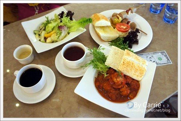 【台中早午餐】胖達咖啡輕食館。熊貓陪你共度開心的早晨 @飛天璇的口袋