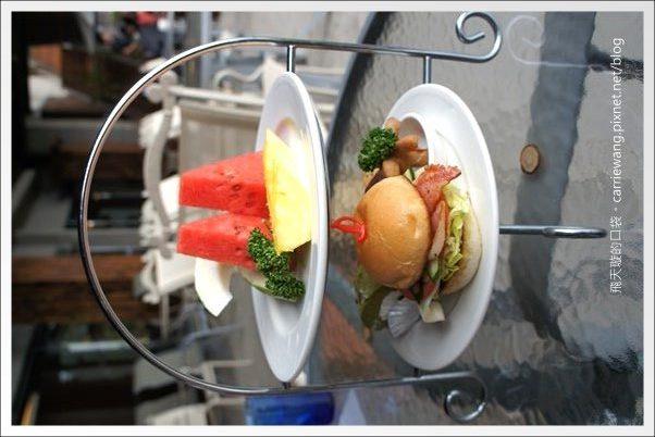 【南投日月潭下午茶】大淶閣。英式下午茶+漢堡套餐 @飛天璇的口袋