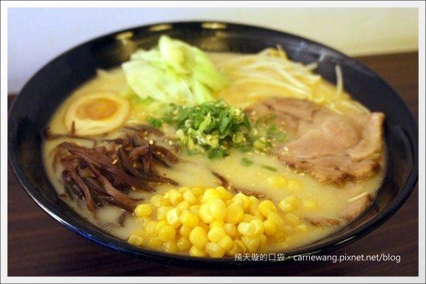 【台中日式拉麵】十八町拉麵店。好吃の拉麵推薦!! @飛天璇的口袋
