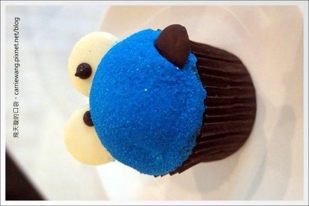 【台中下午茶】Minazuki 水無月博館店。Cookie Monster的杯子蛋糕你吃過嗎?(已歇業) @飛天璇的口袋