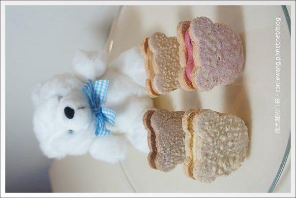 【台中蛋糕甜點】Moricaca.森果香。超可愛的小熊達克瓦茲! @飛天璇的口袋