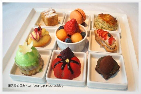 【台中下午茶】Hotel ONE。台中亞緻大飯店。46F頂餐廳九宮格下午茶 @飛天璇的口袋