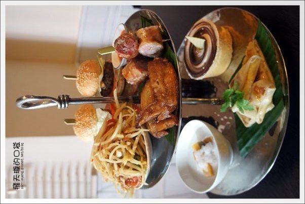 【台中下午茶】Kiki Thai Café。泰式餐廳也有賣二層下午茶~ @飛天璇的口袋