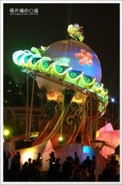 【2013台中燈會】靈蛇護珠。台中文心森林公園 @飛天璇的口袋