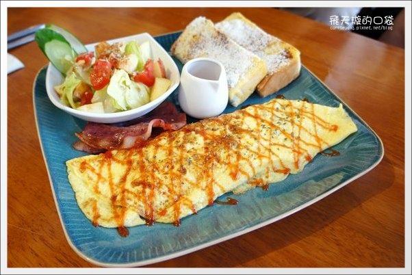 【台中早午餐】摩奇安娜咖啡館。個人推薦北屯區最好吃、C/P值最高的早午餐店! @飛天璇的口袋