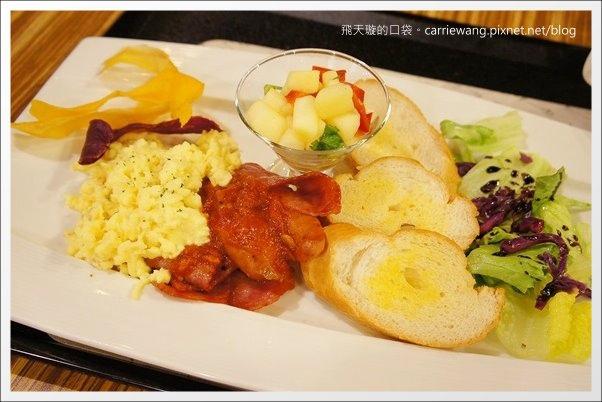 【台中早午餐】日漫咖啡.La Vie Cafe。北屯大坑地區精緻的咖啡館推薦 @飛天璇的口袋