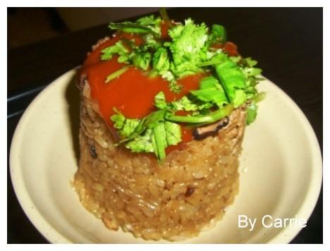 【大溪小吃美食】百年油飯 @飛天璇的口袋