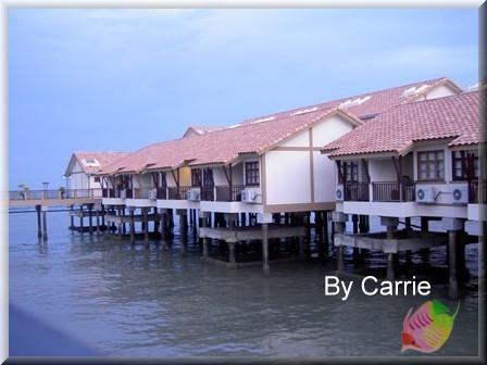 【馬來西亞】禮晶水上屋渡假村.The Legend Water Chalets @飛天璇的口袋