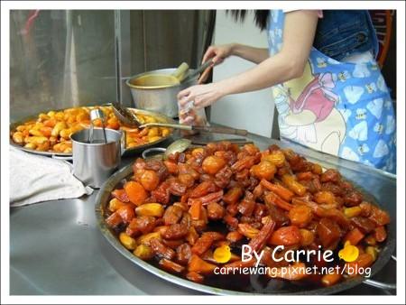 員林蕃薯市蜜地瓜x蕃薯市雞腳凍 @飛天璇的口袋